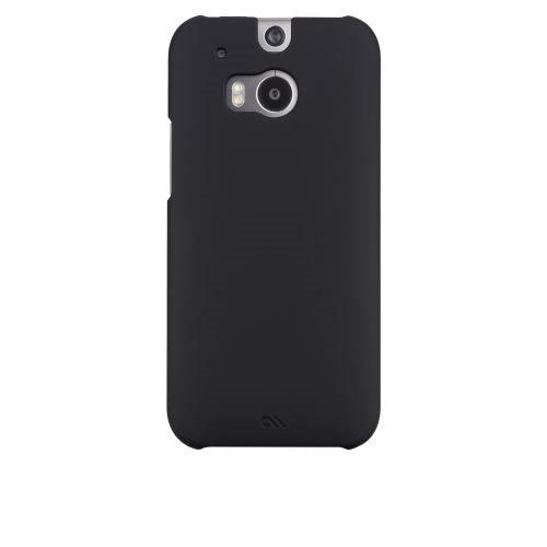 Case-Mate CM030765 Barely There Schutzhülle für HTC One M8 in schwarz