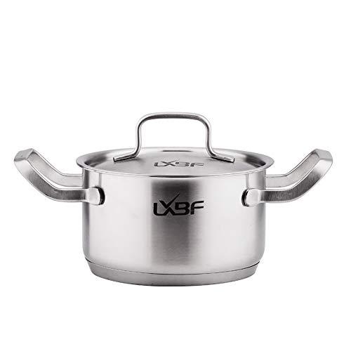 RVS Steamer Pot- Grote Inductie Pan met Gehard Glas Deksel en HitteMakkelijk schoon te maken Geschikt voor diverse kachels zoals Induction Cooker Gas kachels 16-28CM stijlnaam 24cm Kleur