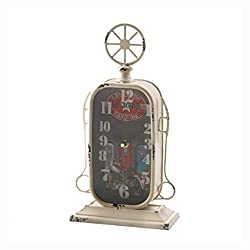 HomyDelight Clock, Gas Station Tabletop Clock