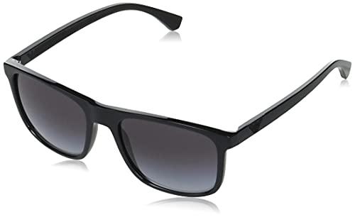 Emporio Armani Occhiali da sole EA4129 50018G occhiali Uomo colore Nero lente grigio taglia 56 mm