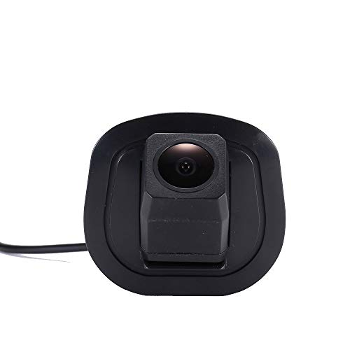 HD IP68 1280Pixeles Luz de la Placa del 170 Gran Angular IR Visión Nocturna Vista Posterior Cámara Marcha atrás para B M W X5 E70,X6 E71 (No.7890 HD Caméra)
