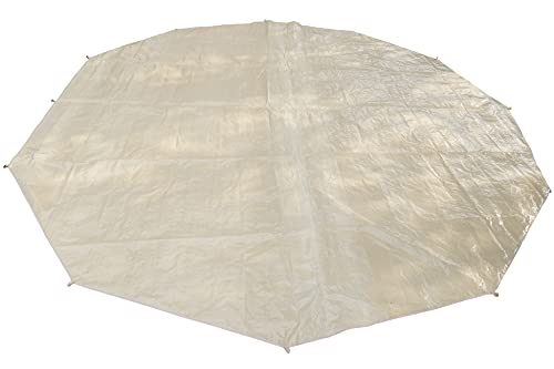 Outop Ultralight Tent Footprint, Waterproof Ground Cloth Portable Tarps for Bell Tent Ground Camping