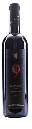 Mesimvria Wines griechischer Rotwein Syrah | Jahrgang 2015 | trocken | Silbermedaillie 2017 | 1x 750 ml