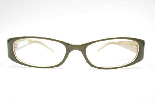 Eva Minge E.M.020 50[]16 130 Grün oval Brille Brillengestell eyeglasses Neu