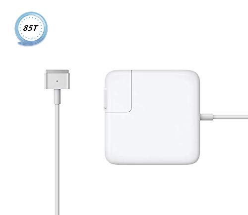 Mac Book Pro Charger, AC 85w Magsafe 2 Power Adapter Magnetic T-Tip Connector Charger for Mac Book Pro 13/15/17 Inch - Superior Heat Control -Mid 2012 or Later
