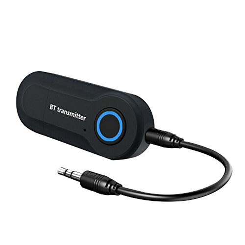 GT-09s Bluetooth-zender USB-voeding Stereo BT V4.2 Draadloze 3,5 mm AUX-adapter voor laptop Home Sound System