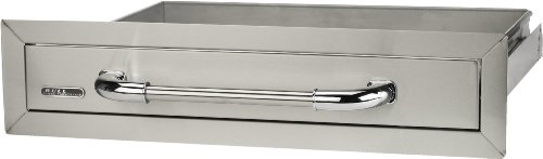 Bull Outdoor Products 09970 Single Drawer, Stainless Steel