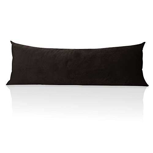 StangH Body Pillow Pillowcase, 20 x 54 inches Black Soft...