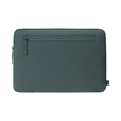 Incase Bionic Compact Sleeve Protective Case Made of Reclaimed Ocean Plastic for Apple MacBook Pro 15.4 Inch/Pro 16 Inch - Ocean Green [Accessory Pouch I Durable Material]