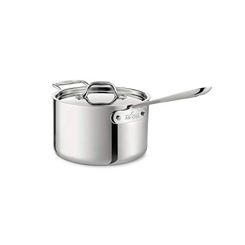 All-Clad 8701004419 Sauce Pan, Stainless Steel