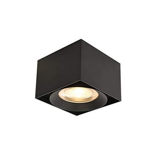 JLXW LED spot opbouw 7W / 12W / 15W plafondspot lamp 3000K warm wit 110LM creatieve downlight voor badkamer woonkamer keuken