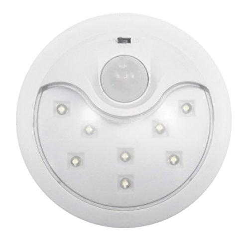 Garza Power - Detector de Movimiento Infrarrojos con Luz LED...