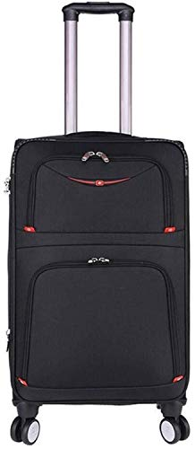 Fashion backpack 3 Suitcase Set 20 Inches 24 Inches 28 Inches Softside Vertical Extensible Luggage Suitcase Softshell Lightweight Trolley case Portable Multidirectional Wheel 360 ° Mute Suitable for o