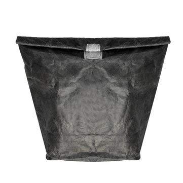 DyNamic 6L Bruine Kraftpapier Lunchtas Herbruikbare Duurzame Geïsoleerde Thermische Koeltas - Zwart