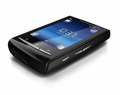 Sony Ericsson XPERIA X10 Mini Smartphone (6,6 cm (2,6 Zoll) Display, Android, WLAN, GPS, 5 MP Kamera) black