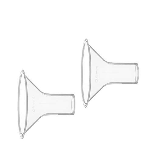 Medela 80333 - Embudo para sacaleches Medela, talla M (24 mm)