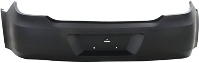 Rear Bumper Cover Compatible with 2006-2009 Pontiac G6 Primed Convertible/Coupe