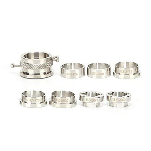 TMISHION Clockwork Base, Steel Clockwork Holder for BZ-2000 ETA-7750 BZ-2824 BZ-3135 BZ-2671 Clockwork Steel Clockwork Holder