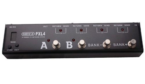 JOYO PXL4 Wave-X 4 Loop Effects Pedal Loop Switching System True Bypass