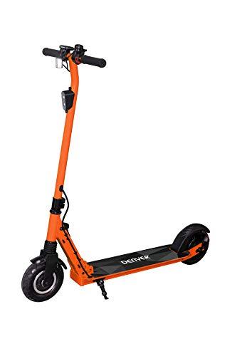 Denver SCO-80130 Elektro-Scooter, Unisex, Erwachsene, Orange, 300 W