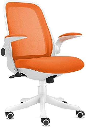 Sillas de Oficina Silla de Juego Silla de computadora Respirador Respaldo Comfort Asiento Tilt Función Silla de Oficina Malla (Color : Orange)