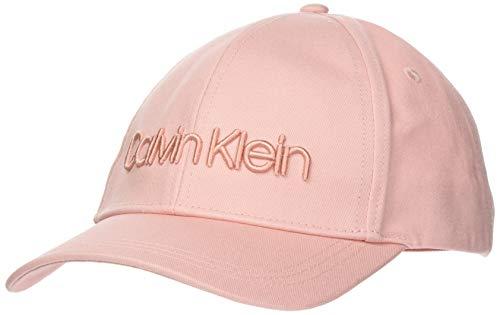 Calvin Klein Embroidery Logo BB Cap Gorro/Sombrero, Purple, OS para Mujer