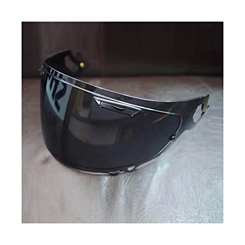 Lente de visera de casco de motocicleta, Casco Lens Visor Motocross Casco Motocicleta Casco Casco Completo Casco Casco Lente Lente Para AR-AI RX-7X RX7X CORSAIR-X RX-7V VAS-V ( Color : Deep tea )