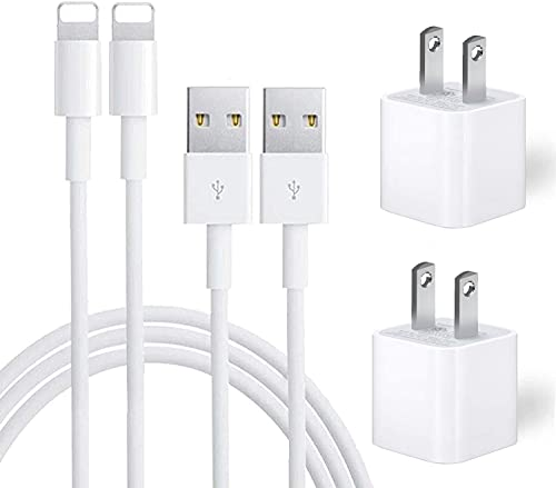 iPhone Charger, iPhone Charger MFi Certified Lightning Cable to USB...