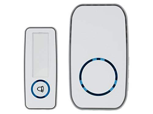 Campanello per porta wireless STK 17 A1, bianco
