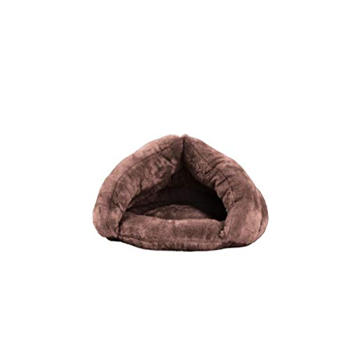 HUOQILIN Velvet Ball Cat Litter Half Nest Pet Dog Nest Nest Cat Saco De Dormir Cat Cat House Cat House Cat House