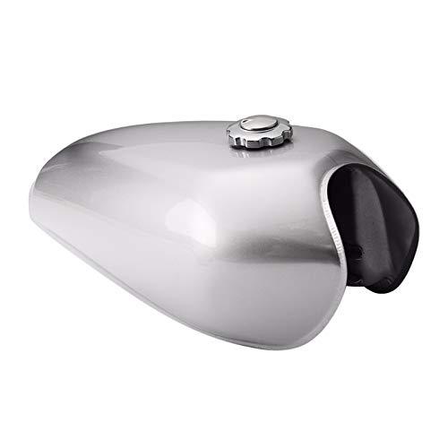 flygogo Cafe Racer Tank 9L Motorcycle Vintage Fuel Gas Can Retro Petrol Tanks for Honda CG125 CG125S CG250