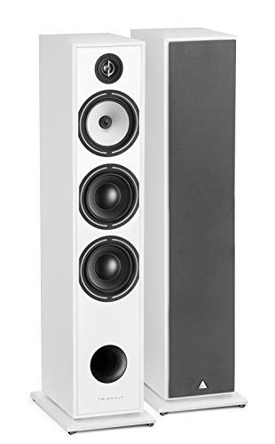 Borea BR08 Triangle Floor Standing Speaker weiß