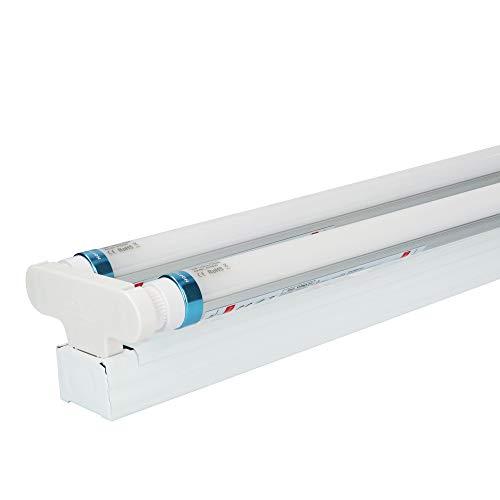 25 lámparas LED para bañera, IP20, 150 cm, 4000 K, 25 W, 7000 lm, 140 lm/W, sin parpadeo.