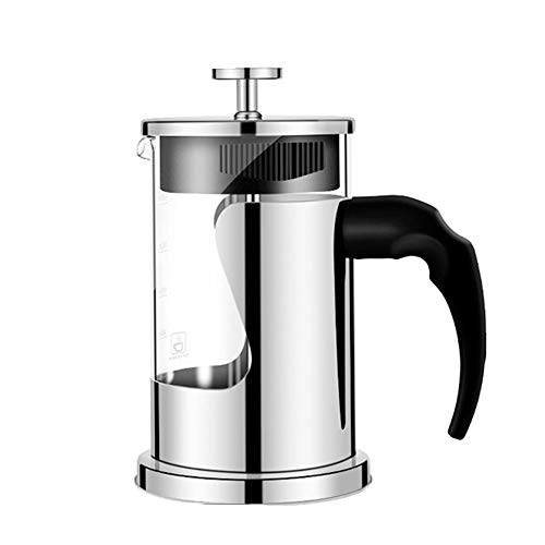 Amazing Deal French Press Pot Coffee Maker Coffee Utensils Stainless Steel Home Use Press Pot Glass ...