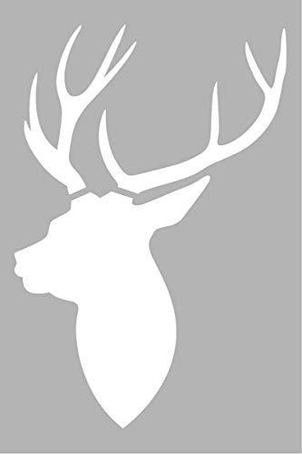 Artémio sjabloon, hertenkop, 10 x 15 cm