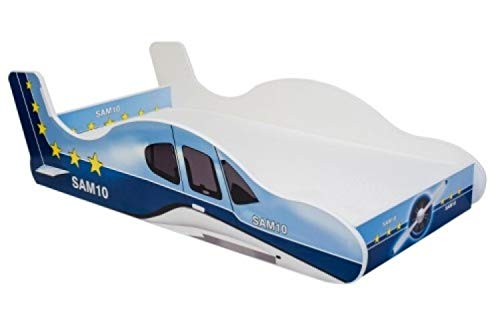 Lux4Kids Angelbeds Kinderbett Flugzeug Motive Flex Lattenrost Matratze 160 X 80 Plane 3