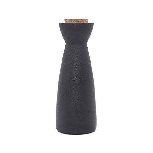 Xu-flask Zen Sake Frasco de la Cadera, la Botella Favorita Vodka Brandy Mini Vino, Licor de Vino Serie de Calentamiento del Vino dispensador, Padrino de Regalo (Size : 220ml)