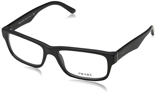 Ray-Ban 0PR 16MV zonnebril, zwart (mat zwart), 53 heren