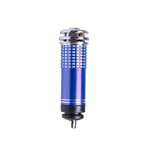 Timetided Mini purificador de Aire para Coche, 12 V, Mini purificador iónico de aniones de Aire Fresco para Coche, Barra de oxígeno, ionizador de ozono, Limpiador, ambientador de Aire para vehículos