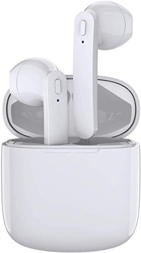 Wireless Earbuds Headphones, HiFi Stereo 5.0 Bluetooth Headphones in Ear IPX6 Waterproof Wireless Earphones With Mic, 35H Playtime TWS Bluetooth Earphones With Fast Charging Case-4