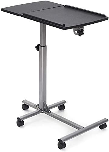 Goplus Laptop-Ständer für Schreibtisch, Schwarz / Grau