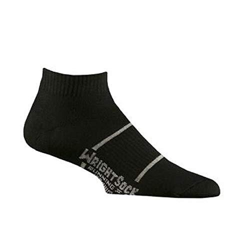Wrightsock Anti-Blister Double Layer Running II Lo Quarter Size Medium Black