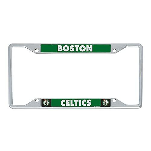 Boston Celtics Team NBA Metal License Plate Frame for Front or Back of Car Officially Licensed (Team Name)