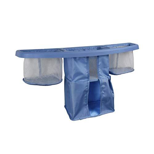LJJOO Bolsa de almacenamiento de cama universal, bolsa de almacenamiento de cama para bebé colgante, Caddy de almacenamiento de cabecera con múltiples bolsillos, adecuado para habitaciones de dormitor