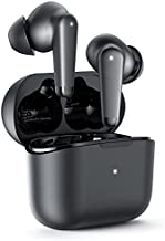 Active Noise Cancelling Wireless Earbuds Transparent Mode and 4 Mics Bluetooth Earbuds IPX7 Waterproof Bluetooth 5.0 Wireless Earphones Deep Bass and Stereo Sound Bluetooth Earphones
