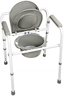 Graham-Field 7108R-1 Commode Folding Steel, Retail