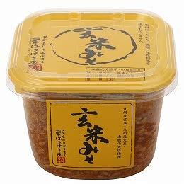 玄米みそ(カップ入り) 500g 【はつゆき屋】×10
