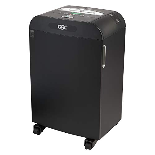 Affordable GBC Paper Shredder, Jam Free, 22 Sheet Capacity, Strip-Cut, 10-20 Users, DS22-19 (1758595...