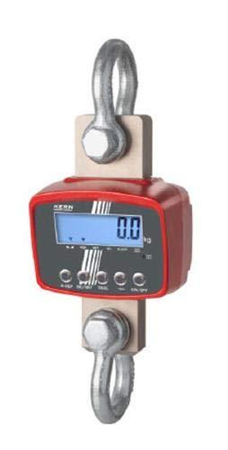 Kern HFD 6T-3M - Robusta balanza de grúa de alta resolución, Ideal para un empleo duradero en el sector industrial, Campo de pesaje [Max]: 6000 kg, Lectura [d]: 2000 g, SIN HOMOLOGACIÓN