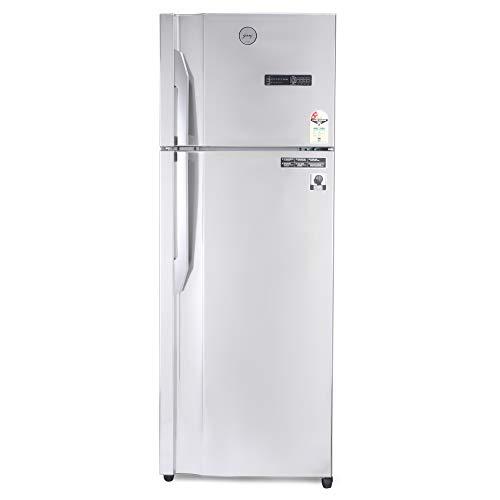 Godrej 350 L 2 Star Inverter Frost-Free Double Door Refrigerator (RT EONVIBE 366B 25 HCIT ST RH, Steel Rush, 4 in 1 Convertible)